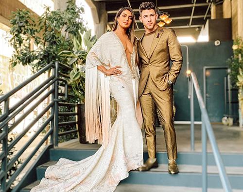 priyanka chopra Priyanka Chopra hot ai Grammys 2020
