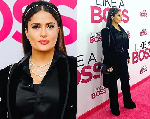 salma hayek Salma Hayek presenta Like a Boss a NY