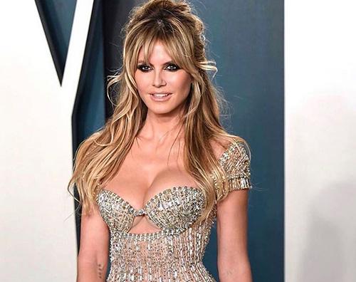 Heidi Klum è Brigitte Bardot al VF Oscar Party