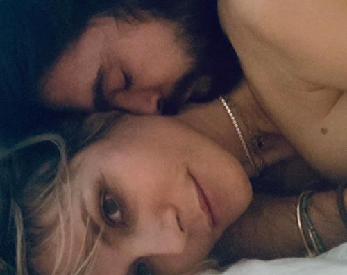 heidi klum 2 Heidi Klum e Tom Kaulitz assonnati e innamorati
