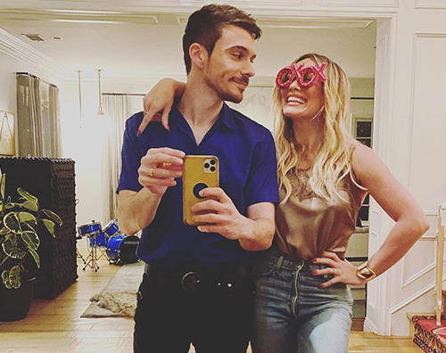 hilary duff 1 Hilary Duff e Matthew Koma lontani per San Valentino