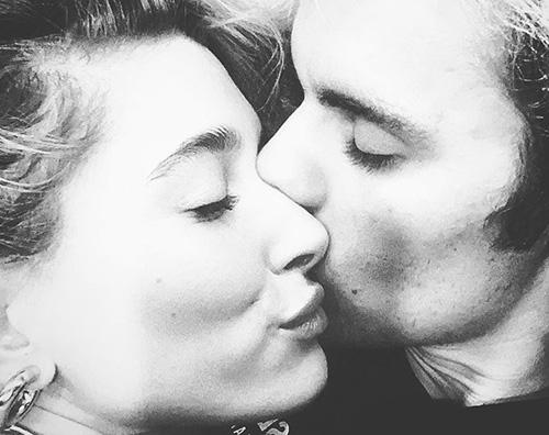 Justin e Hailey, coccole su Instagram