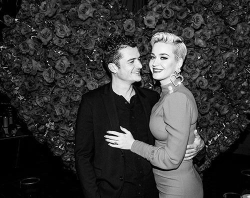 Katy e Orlando, un party per festeggiare l'anniversario di fidanzamento