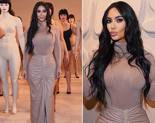 kim kardashian Kim Kardashian al party di Nordstrom per Skims