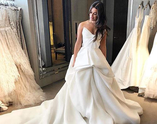 lea michele Lea Michele ripensa ai preparativi per le nozze