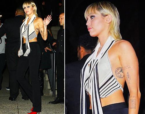 miley cyrus 1 Miley Cyrus sfida Instagram con una foto hot