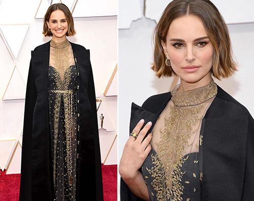 natalie portman Natalie Portman, protesta silenziosa agli Oscar 2020