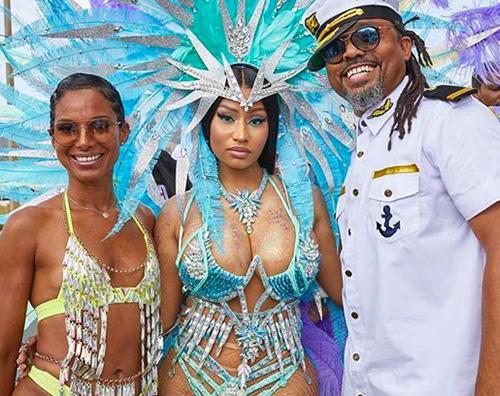 Nicki Minaj regina del Carnevale