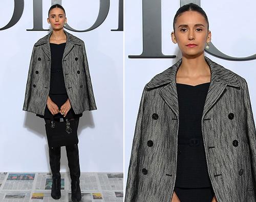 Nina Dobrev a Parigi per Dior