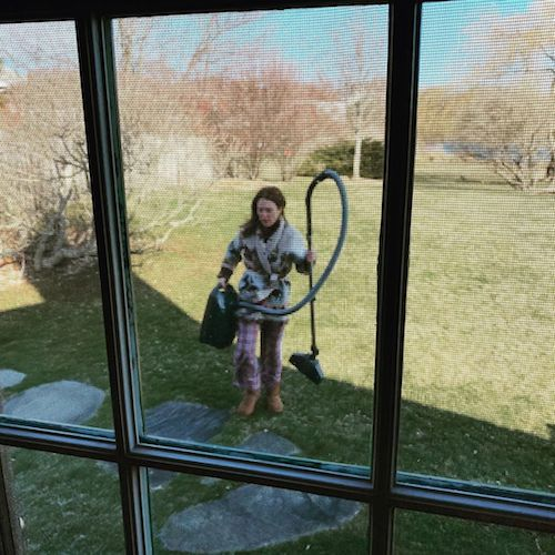 Julianne Moore, una casalinga in quarantena