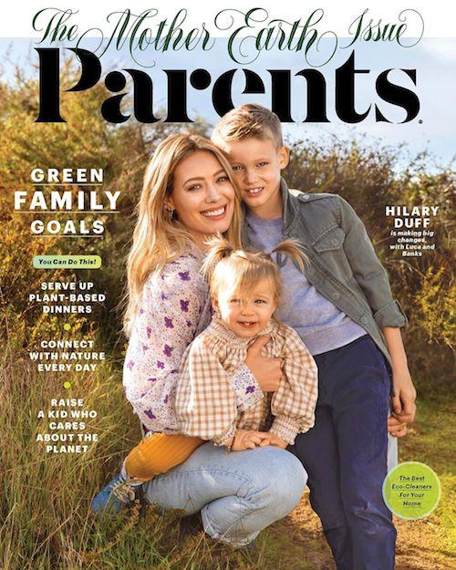 88169160 132975004769070 2758413534771272389 n Hialry Duff con i figli su Parents