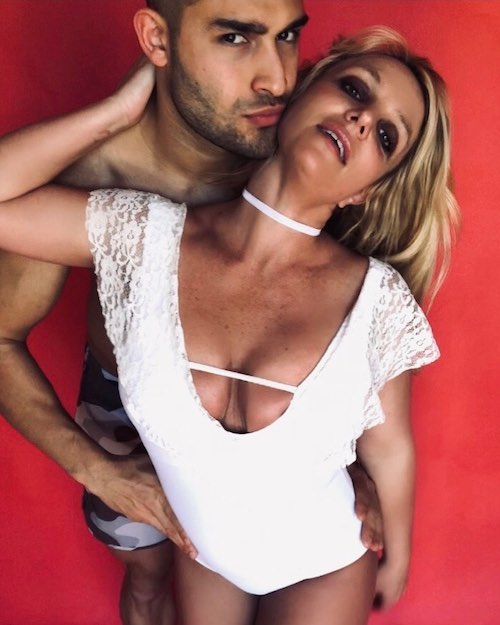 88181028 502955060640213 8699715675871049603 n Britney Spears e Sam Asghari, foto di coppia sui social