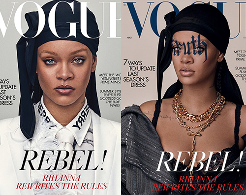 Rihanna Rihanna è sulla cover di British Vogue