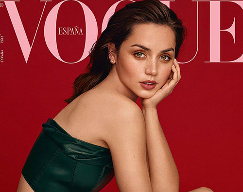 ana de armas cover Ana de Armas parla di Ben Affleck su Vogue Spagna