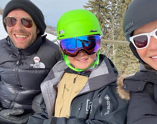 gwyneth Gwyneth Paltrow, auguri social al suo ex marito