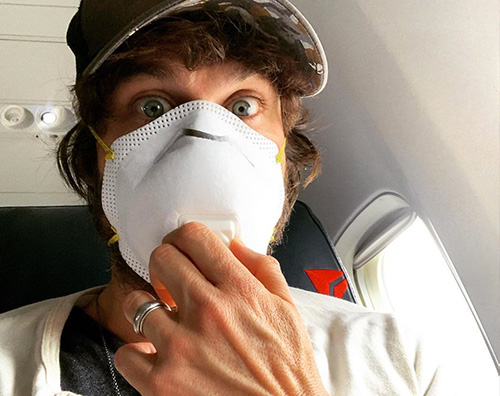 ian somerhalder Ian Somerhalder si protegge dal coronavirus
