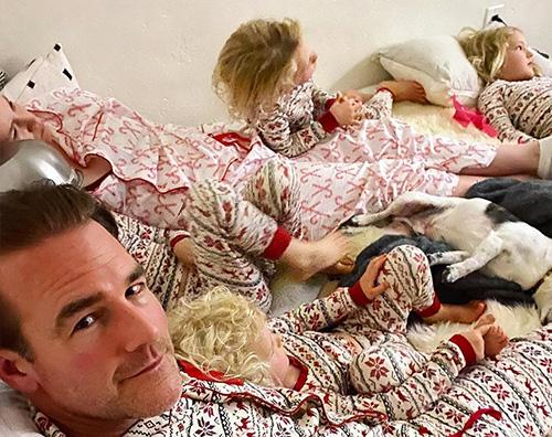 james van der beek Per James Van Der Beek è di nuovo Natale