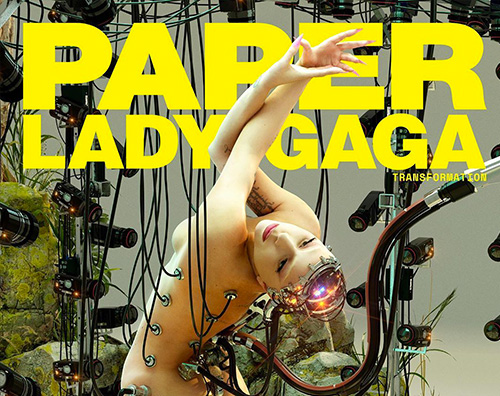 lady gaga cover Lady Gaga, donna bionica per Paper Magazine
