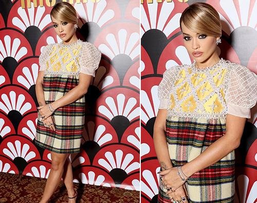 rita ora Rita Ora al party di MiuMiu