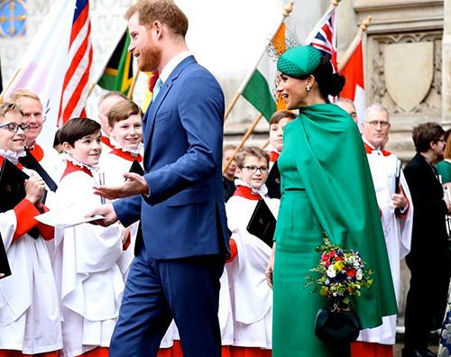 royal family 2 Harry e Meghan, smacco alla Corona nel Commonwealth Day