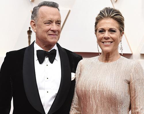 tom hanks rita wilson Tom Hanks e Rita Wilson ringraziano i fan dopo la diagnosi di COVID 19