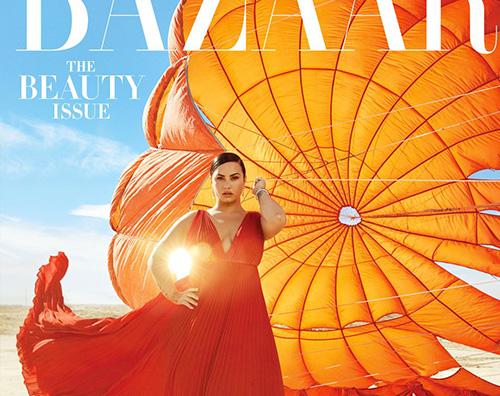 demi lovato cover Demi Lovato si racconta su Harpers Bazaar