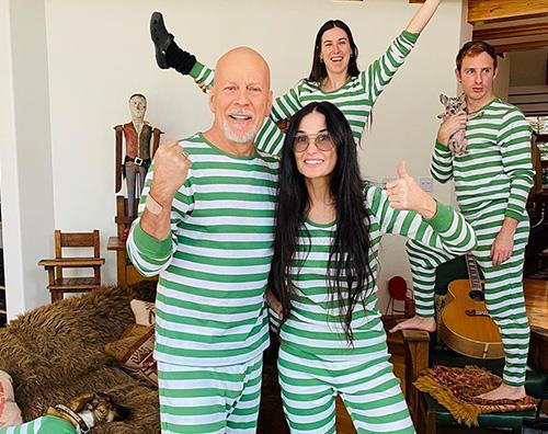 demi moore Demi Moore e Bruce Willis insieme sui social