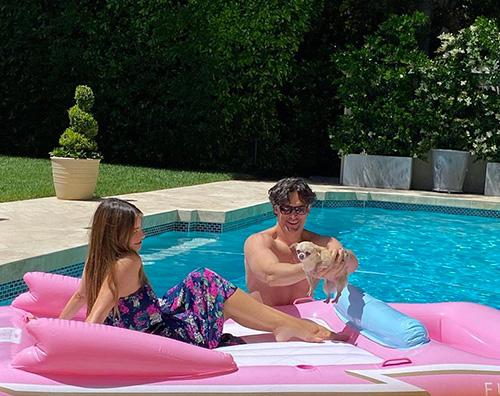 joe sofia Sofia Vergara e Joe Manganiello, pool party in quarantena