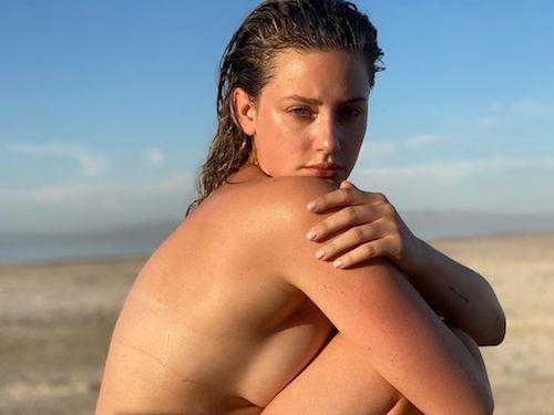 106603200 265935794504454 1618372210537765409 n Lili Reinhart in topless su Instagram