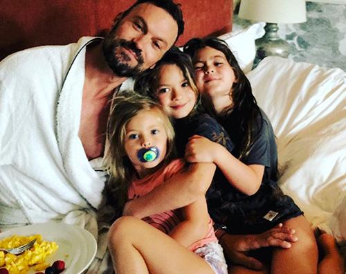 brian austin green Brian Austin Green con i figli su Instagram