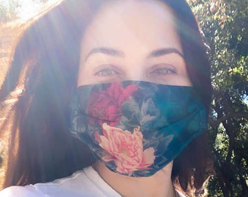 jenna dewan 1 Jenna Dewan, la mascherina è glam