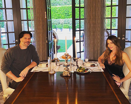 joe sofia Sofia Vergara e Joe Manganiello festeggiano sei anni damore