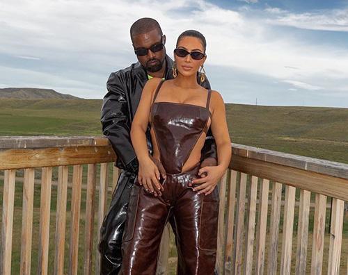 kim e kanye Kim e Kanye innamorati in Wyoming