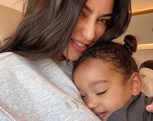 kim k 2 Kim Kardashian coccola Chicago su Instagram