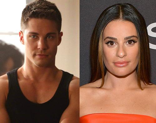 lea michele Dean Geyer di Glee difende Lea Michele