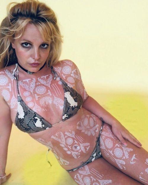 116054191 646454189618706 6090087527393543986 n Britney Spears mostra i suoi tattoo allhenne