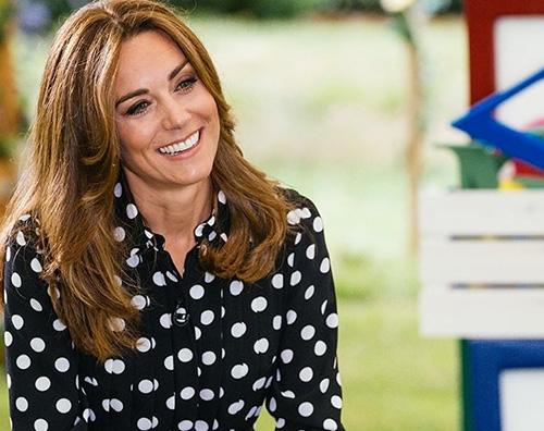 kate middleton 2 Kate Middleton, espadrillas e pois per Tiny Happy People