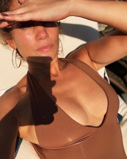 Jennifer lopez Relax al sole per JLo
