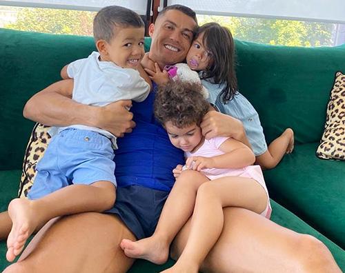 Relax coi bambini per Cristiano Ronaldo