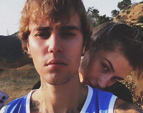 justin bieber Justin e Hailey, selfie di coppia su IG