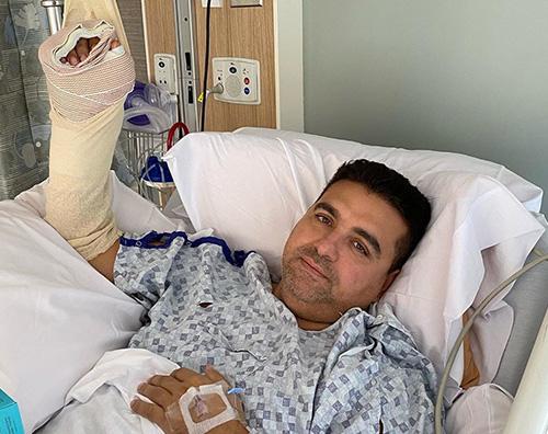 """Buddy Valastro di """"Il Boss Delle Torte"""" in ospedale per un brutto incidente"""