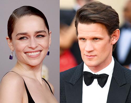 emilia clarke matt smith Emilia Clarke e Matt Smith: allarme nuova coppia?