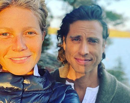 gwyneth brad Gwyneth Paltrow festeggia lanniversario su Instagram