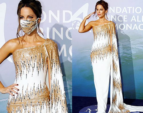 kate beckinsale Kate Backinsale regina del primo grande red carpet post pandemia