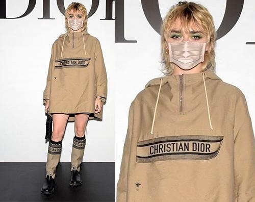 maisie williams Maisie Williams a Parigi per Dior