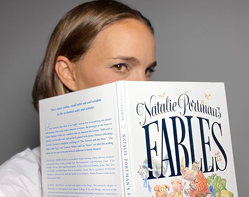natalie portman Natalie Portman ha scritto un libro