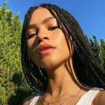 zendaya 1 150x150 Zendaya, selfie con le treccine
