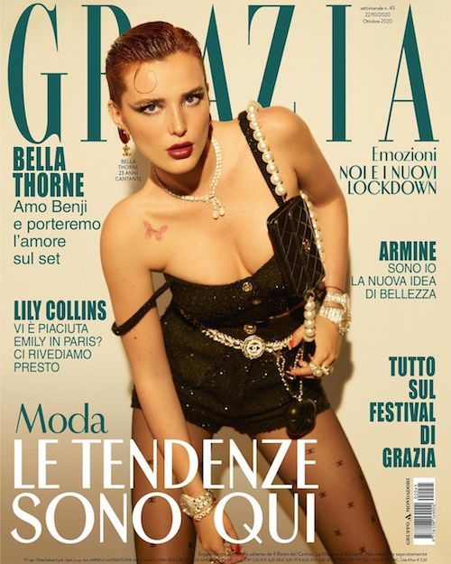 122154864 465402204435871 5094145792569144572 n Bella Thorne sulla cover di Grazia Italia