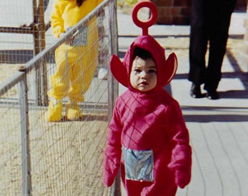 baby celebrity Indovina il Teletubbies rosso