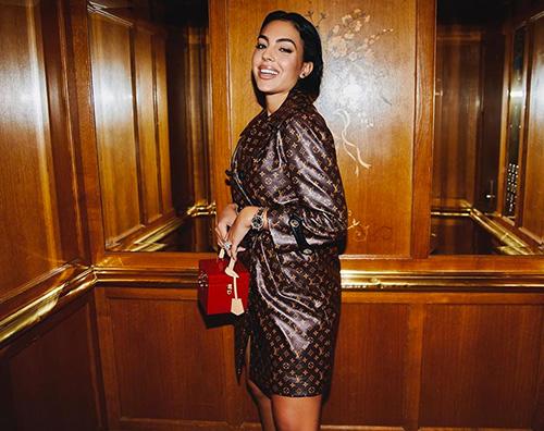 georgina rodriguez Georgina Rodriguez a Parigi per la Fashion Week